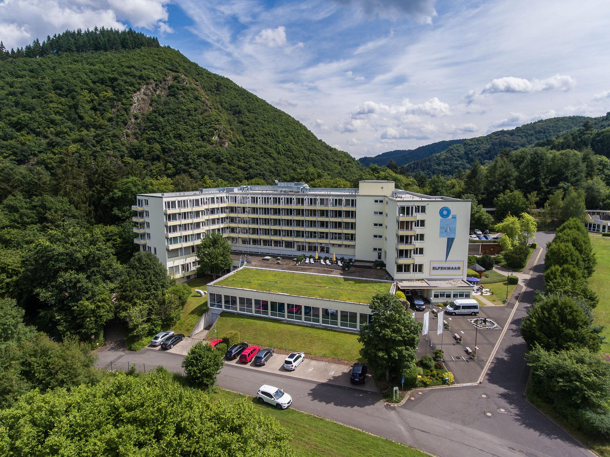 Luftaufnahme für Elfenmaar Klinik